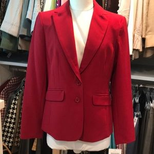 NWT Apostrophe Red Hot blazer. Size 4